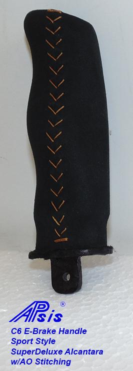 C6 E-Brake Handle-SA w-ao stitching-1