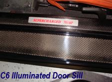 C6 Illuminated Carbon Door Sill-1-new