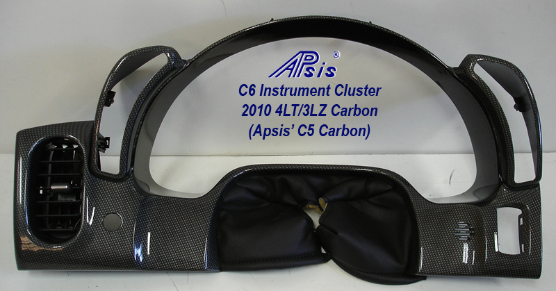 C6 Instrument Cluster-c5 carbon-full-1 no flash