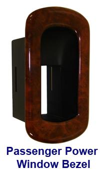 C6 Lamination Burlwood-Pass Power Window Bezel-invidual-200