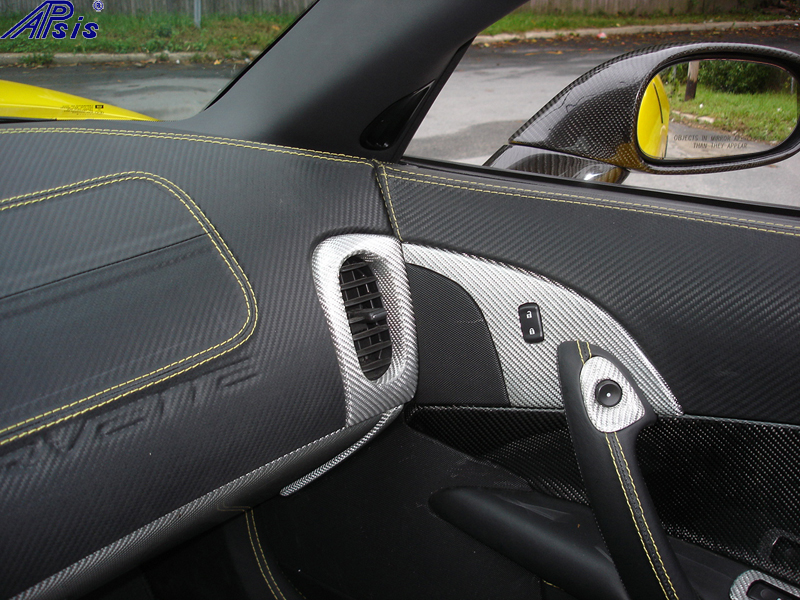 C6 Main Dash-show where door panel meet main dash-pass side-3