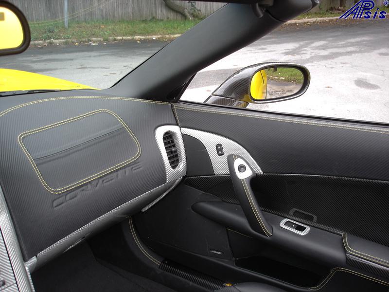 C6 Main Dash-show where door panel meet main dash-pass side-4