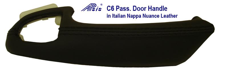 C6 Pass Door Handles 800 Nappa Nuance