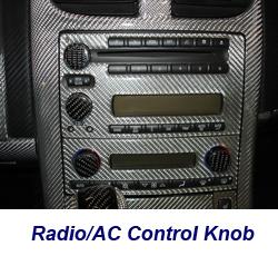 C6 Radio-AC Knob-CF-installed on jerseys car-1 250