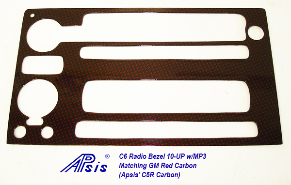 C6 Radio Bezel 08-UP-C5R-individual-1