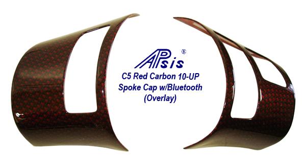 C6 Red Carbon-spoke cap w-bluetooth-1