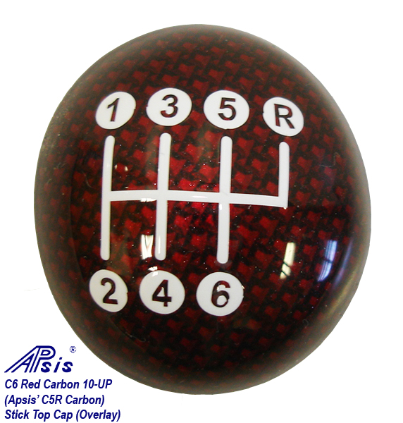 C6 Red Carbon-stick top cap-1