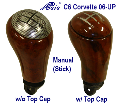 C6 SK-Stick-burlwood-w & w-o Top Cap-both - 400