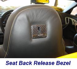 C6 Seat Back Release Bezel-CF-installed-1 250