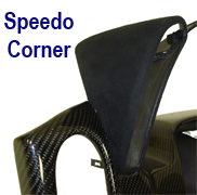 C6 Speedo Corner in Alcantara 250