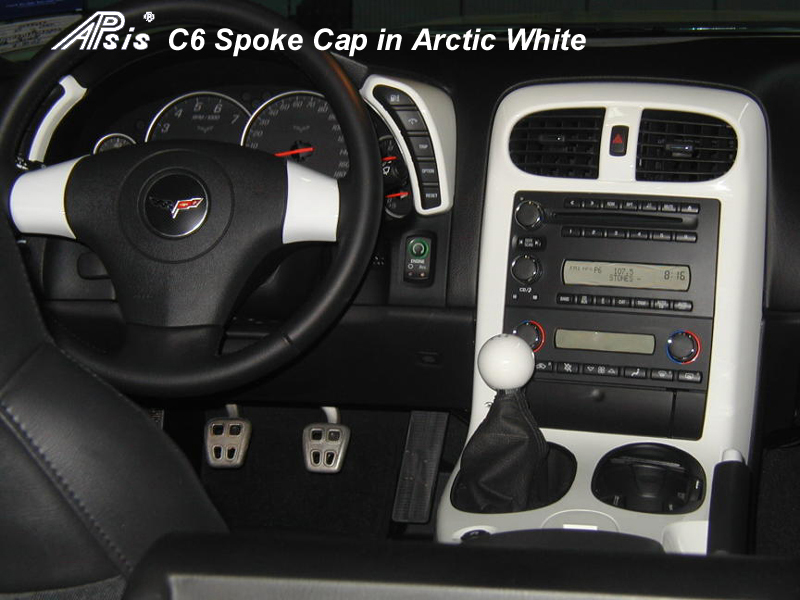 C6 Spoke Cap w-Radio Control-Arctic White-installed-800x600