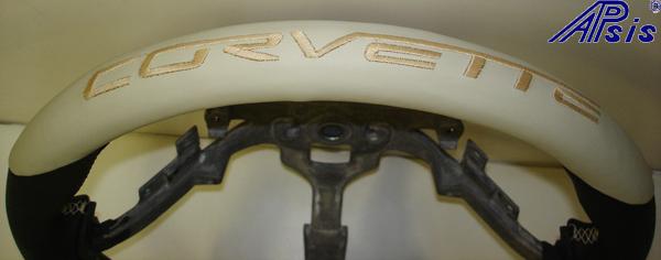 C6 Sport SW-Bk+linen w-corvette lettering on top-close shot-1