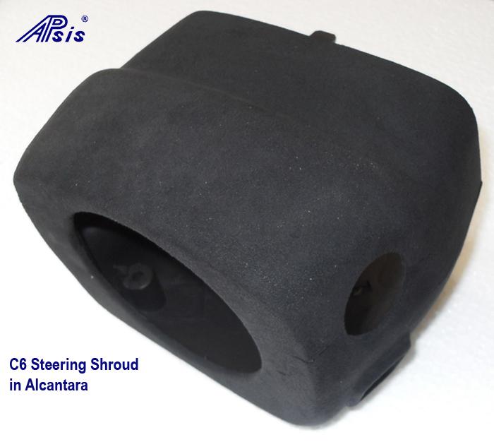 C6 Steering Shrouf in alcantara 700