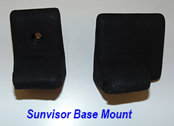 C6 Sunvisor Base Mount-SA-1 250