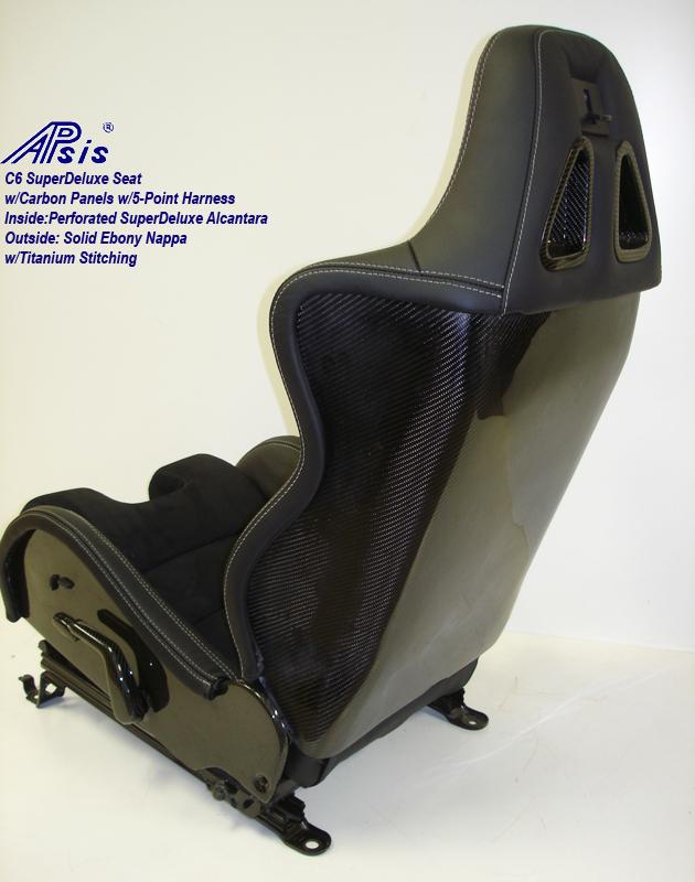 C6 SuperDeluxe Seat w-CF-EB+SA w-Ti-back view-2