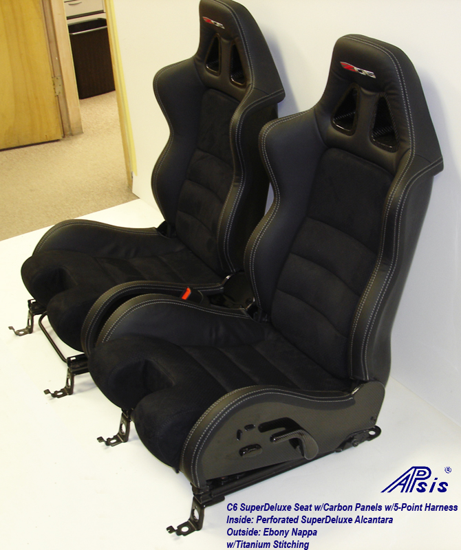C6 SuperDeluxe Seat w-CF-EB+SA w-Ti-pair-side view-3