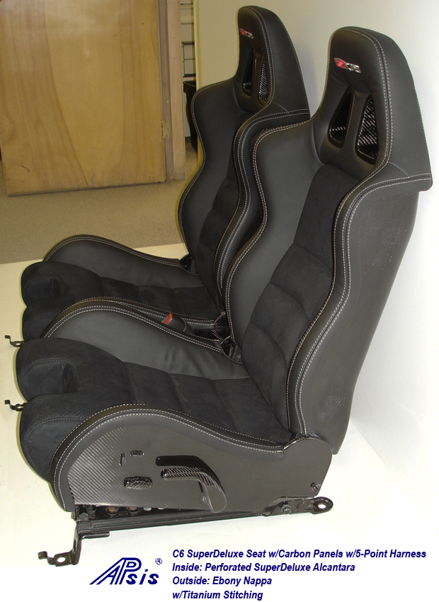 C6 SuperDeluxe Seat w-CF-EB+SA w-Ti-pair-side view-4