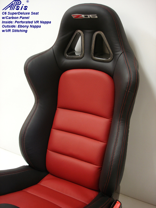 C6 SuperDeluxe Seat w-carbon panel-close shot-show full back panel-1