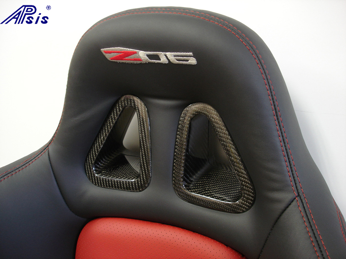 C6 SuperDeluxe Seat w-carbon panel-close shot-show top triangle-3