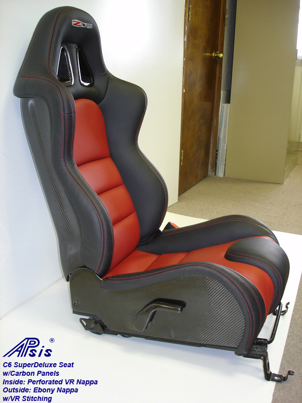 C6 SuperDeluxe Seat w-carbon panel-full-side view-pass-4