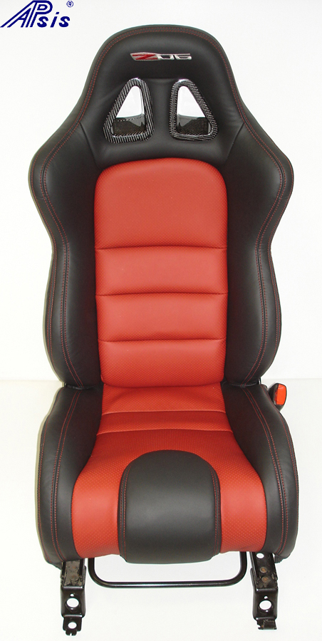 C6 SuperDeluxe Seat w-carbon panel-full-straight view-pass-1