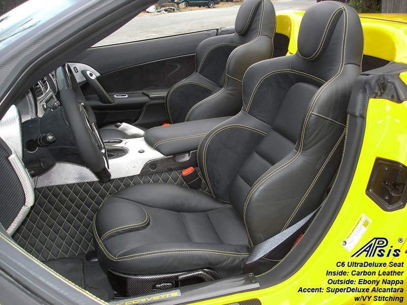 C6 UltraDepuxe Seat-EB+CL+SA-installed on jerseys car-driver view-2