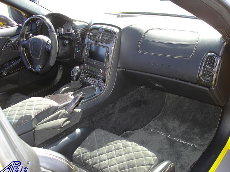 C6 Whole Interior-CF+EB+AL w-VY stitching-harolds car-5