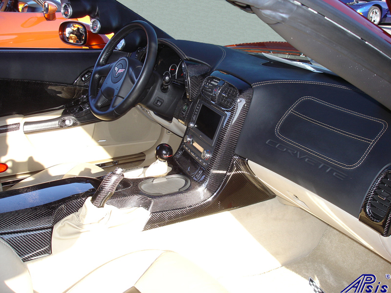C6 Whole Interior-CF+EB+CA-modified corvette-1