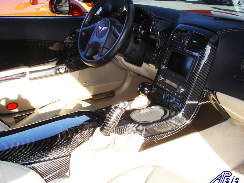 C6 Whole Interior-CF+EB+CA-modified corvette-2a
