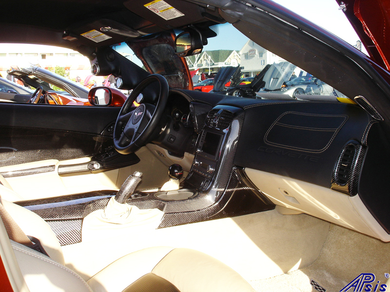 C6 Whole Interior-CF+EB+CA-modified corvette-4