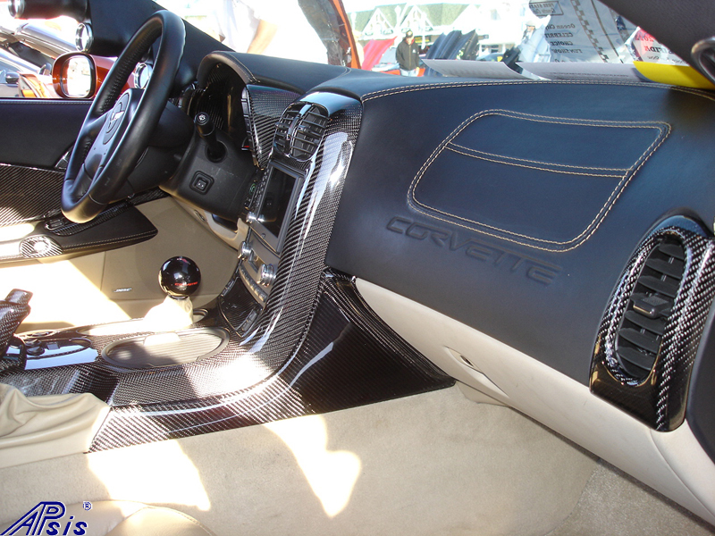 C6 Whole Interior-CF+EB+CA-modified corvette-7