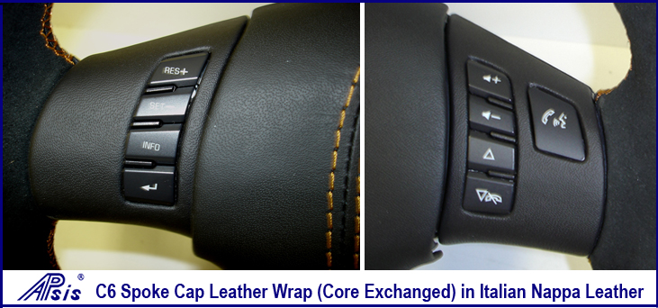 C6 spoke cap Core Exchanged bluetooth & Radio In Nappa Leather-1