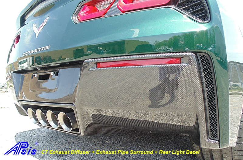 C7 Exhaust Diffuser-installed-outdoor-7 side view