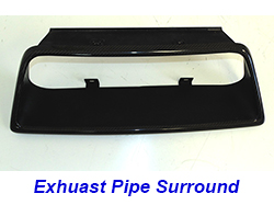 C7 Exhaust Pipe Surround-CF-individual-1