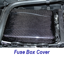 C7 Fuse Box Cover-CF-installed-1 225