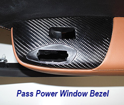 C7 Pass Power Window Bezel-matte-installed on kalahari door panel only-1 crop 250