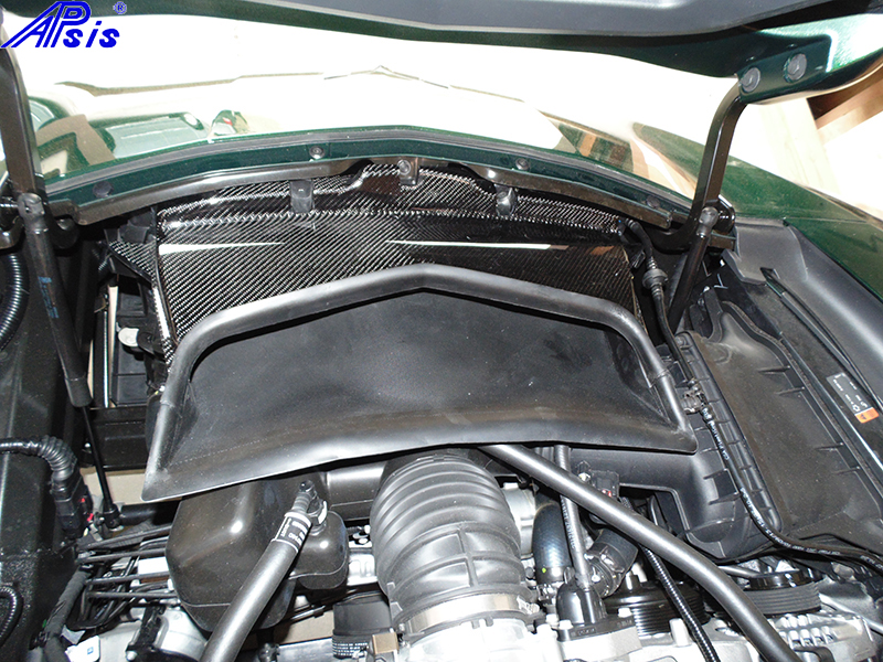 C7 Riadiator Baffle Extension (Air Duct)-installed-2
