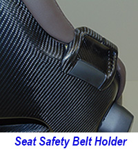 C7 Seat Belt Holder-matt-pass-installed on seat only-1 200
