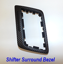 C7 Shifter Surround Bezel-matte finish-1 225