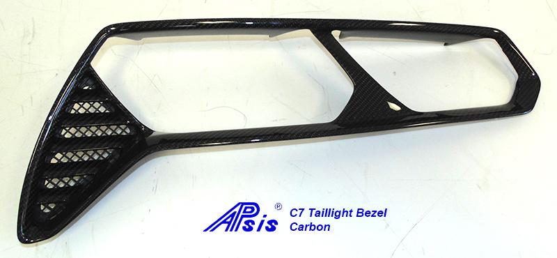 C7 Taillight Bezel-CF-individual-left-1
