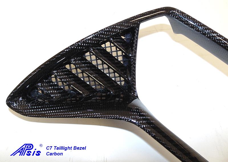 C7 Taillight Bezel-CF-individual-left-4 close shot