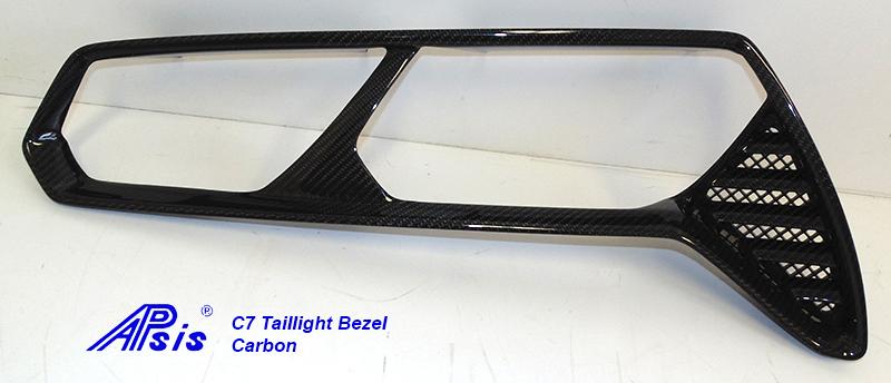 C7 Taillight BezelCF-individual-right-1