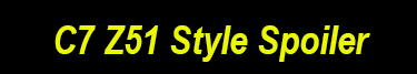 C7 Z51 Style Spoiler Image