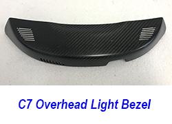 C7OVERHEADLIGHTBEZEL250