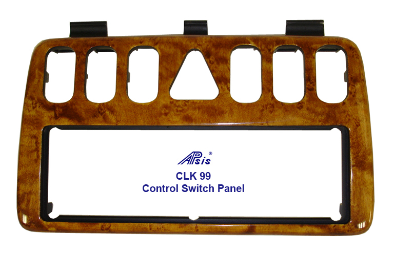 CLK 99 Golded Birdseye-Control Swtich Panel-2-done