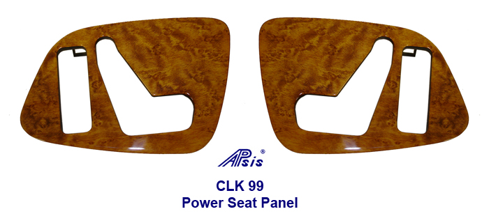 CLK 99 Golden Birdseye-Power Seat Panel-driver -2-done