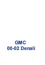 Denali 00-02 Floor Console - 150 w-description