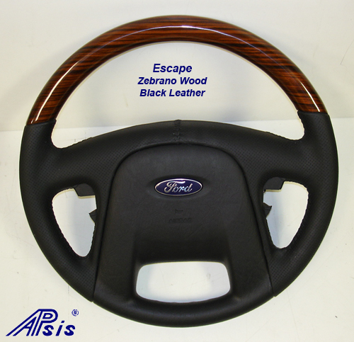 Escape w-zebrano wood-black-1