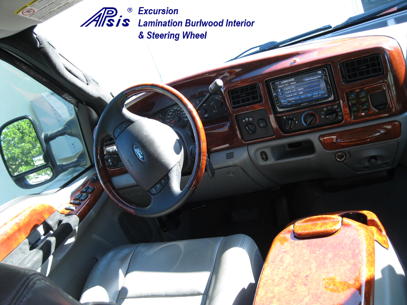 Excursion Whole Interior-burlwood-installed-1