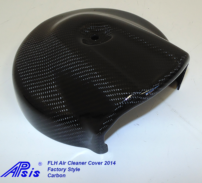 FLH Air Cleaner Cover 2014-CF-individual-side view-2